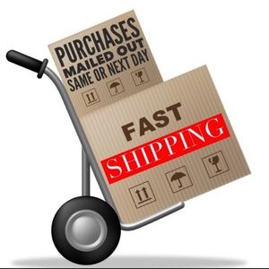 Want your stuff quick—> fast shipper